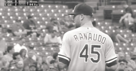 Ranaudo sits down Naquin with a strikeout